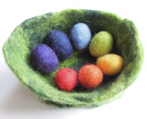 filcowe jajka