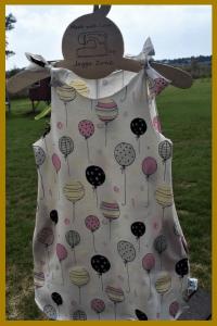 balonowa sukienka handmade