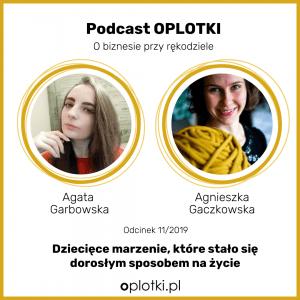 podcast oplotki z Agatą Garbowską Qrkoko