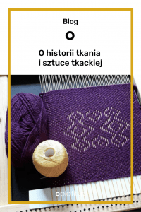 tkanina geometryczna tkactwo Karolina Nowaczyk