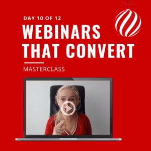 webinars that converts