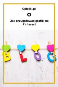 wymiary grafik na Pinterest