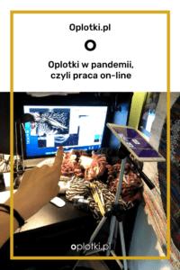 oplotki w pandemii, praca online